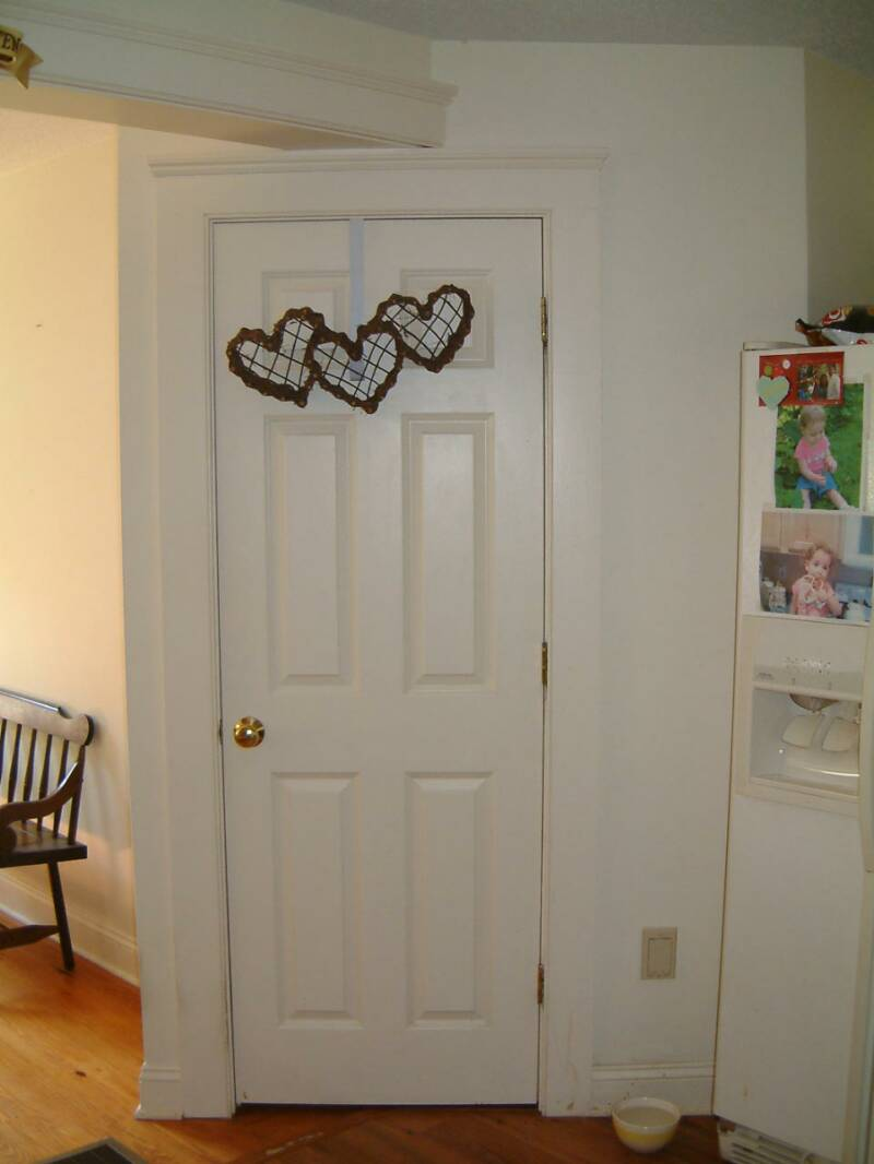 ... Masonite 6 Panel Door With Wide Beaded Trim