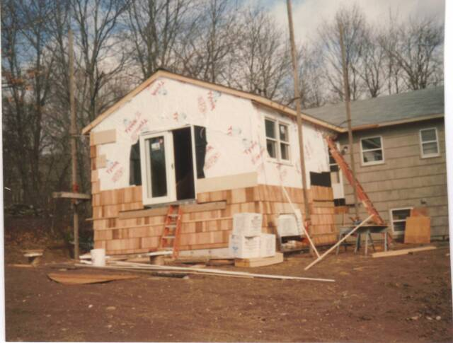 Bedroom Addition, Southbury, CT. 1996