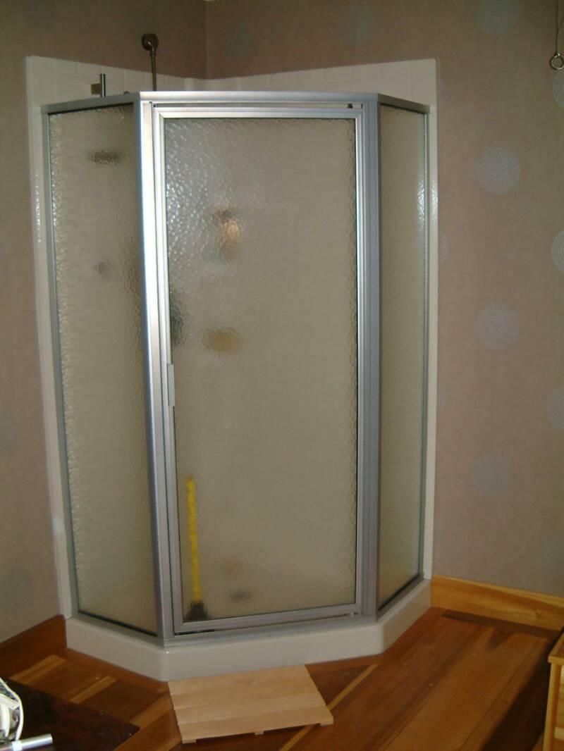 Corner Shower Stall Dimensions Home Design Mannahatta Us